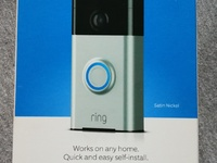 Ring Doorbell with Live Video Camera