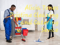 Alicia Tones Pristine Cleaning and Catering Services.