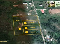 7.6 acres of freehold land, subdivided into 4 parcels in Freeport