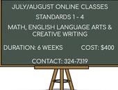 July/August Online Classes New Cycle