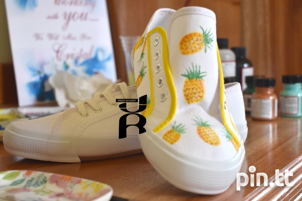 Pineapple Shoes Hand Crafted-1