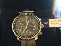 Seiko SNA411 with tags and box