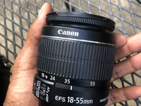 18-55mm Canon kit lens