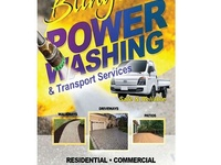 Bling's power washing services