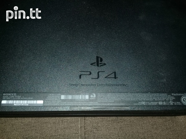 Playstation 4 with 1 controller-3