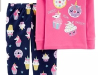 Girls Carter's pjs