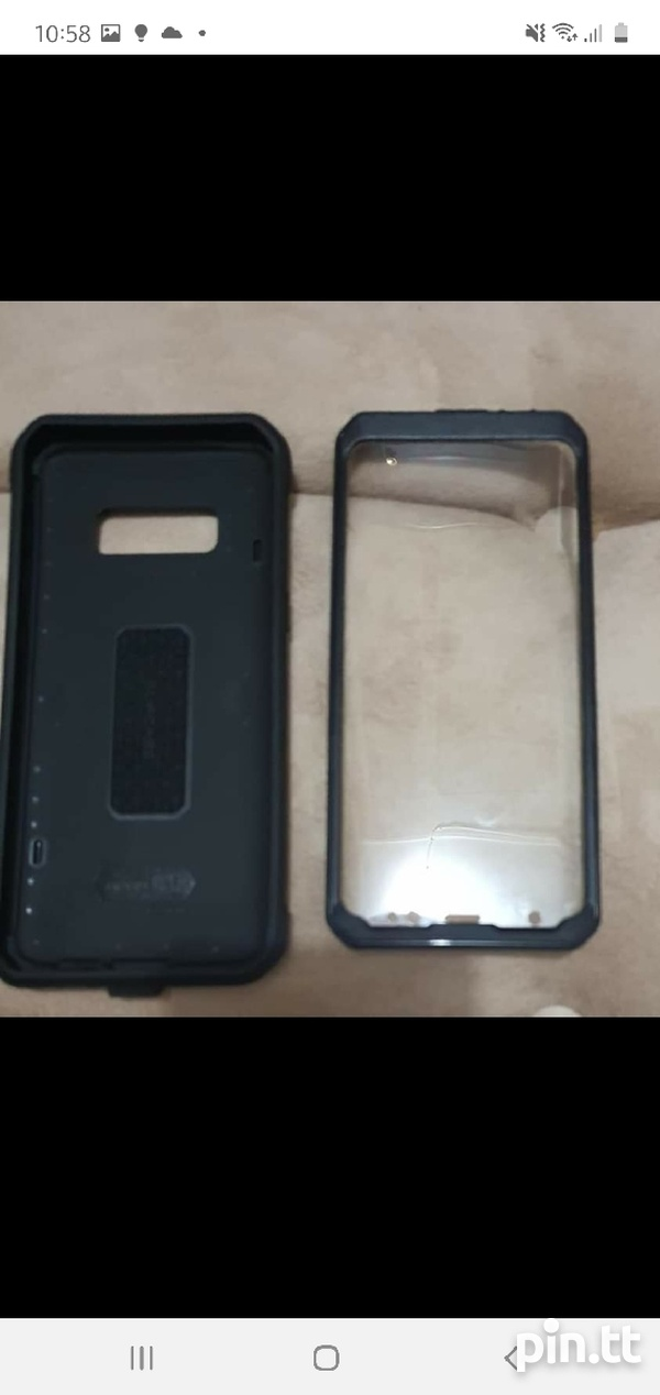Samsung S8 and Protective Case-4