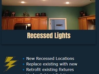Electrician - Recessed Lights