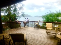Gasparee Island waterfront home
