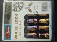 Wheel lock nut x16 +1 tool