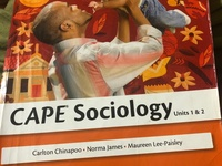 CAPE Sociology Unit 1 and 2 Textbook