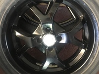 17 inch rims and Tyres 4x100