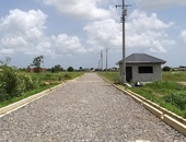 Glorious land in Longdenville, gated community.