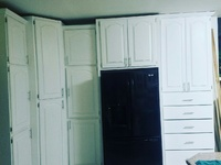 Bedroom and Kitchen cupboards
