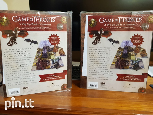 Game of Thrones A Pop Up Guide to Westeros-2