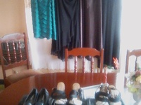 Close down Sale on women's clothing ,Black Jacobies ,wedged shoes