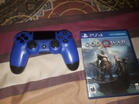 PS4 control and game
