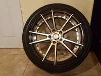 18 inch Vossen Tyre and Rim