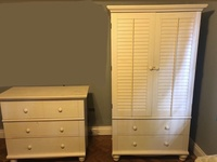 Chest of Drawers and Cupboard