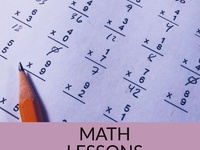 MATH LESSONS/TUTORING