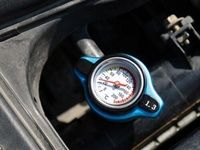 Temperature Gauge Radiator Cap