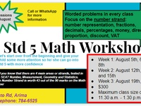 SEA Math Workshop
