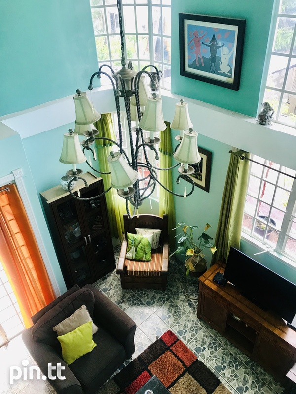 Lovely 4 bedrooms House in vicinity of Queens Park Savannah, POS-4