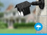 Wyze Camera Wall Mount, Acerzone Protective Weather Proof Housing
