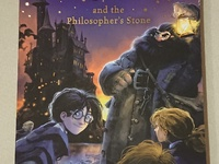 Autographed Harry Potter novel