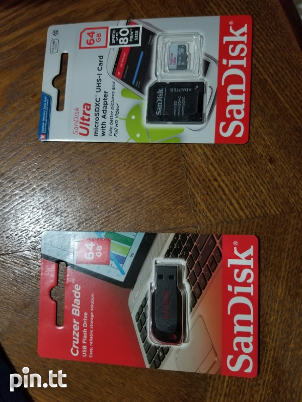 Memory cards and flash drives-1