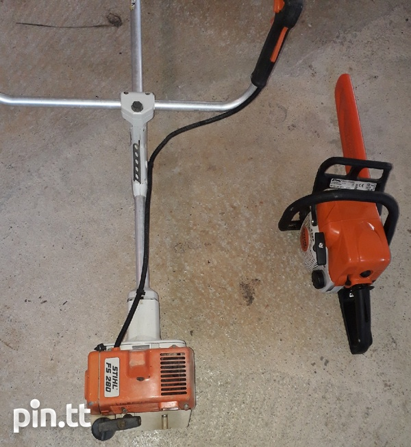 Stihl wacker and Stihl chainsaw for lease daily