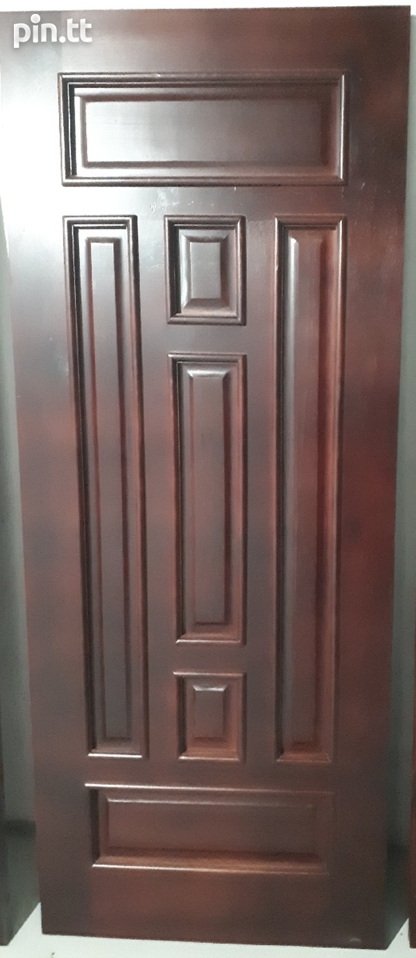 Solid Wood Mahogany Doors-1