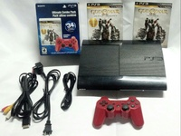Used PS3 Super Slim 250GB GOW Collection, 3months Warranty