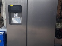 Samsung 25.6 CFT side by side fridge with ice dispenser
