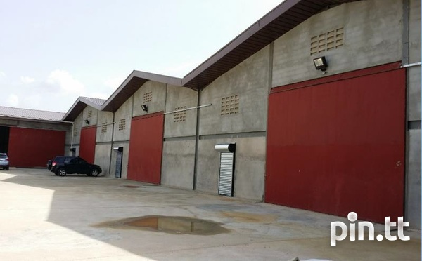 WAREHOUSE SPACE at a Central Location in Aranguez-1
