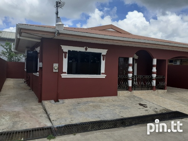 3 Bedroom House Cunupia Gated Community-1