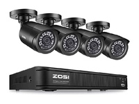 ZOSI H.265+ 8 Channel 1080p Home Security Camera System,4in1 CCTV DVR