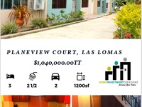 Planeview Courts, Las Lomas Townhouse with 3 Bedrooms