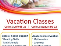 Vacation Classes - Primary Learners