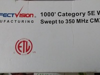 Cat 5E Wire..4pairs