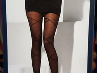 Sheer tights.