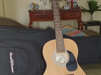 Used first act guitar and case