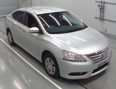Nissan Sylphy, 2017, ROLL ON ROLL OFF JAPAN MODEL 1800CC