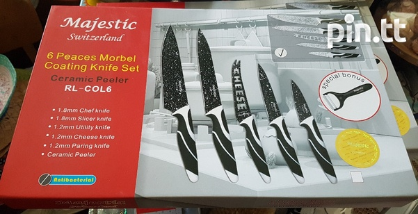 NEW Kitchenware Knife set Antibacterial-1