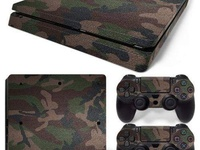 PS4 SKIN WRAPS AND CONTROLLER GRIPS