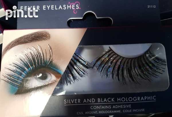 Beautiful lashes with adhesive-6