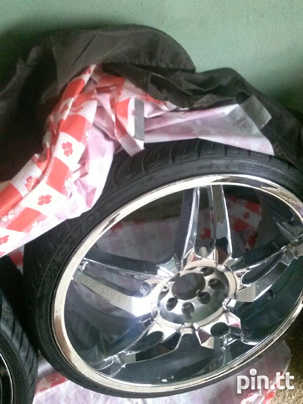 Status Chrome Rims 20in-5