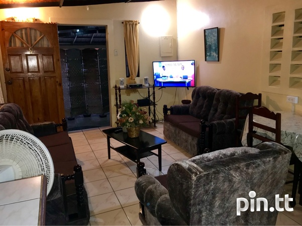 Trincity 2 Bedroom Furnished Apartment-2
