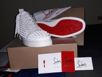 Christian Louboutin Paris Red Bottoms Mens Size 10