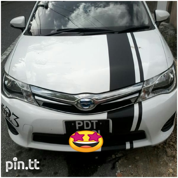 Toyota Fielder Wagon, 2014, PDT-1